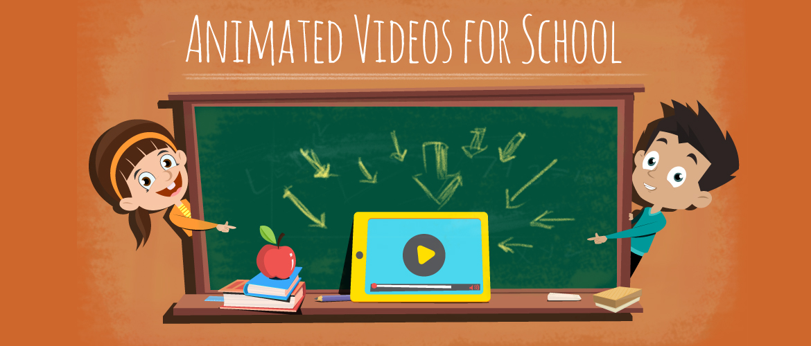 Animated videos for school blog image