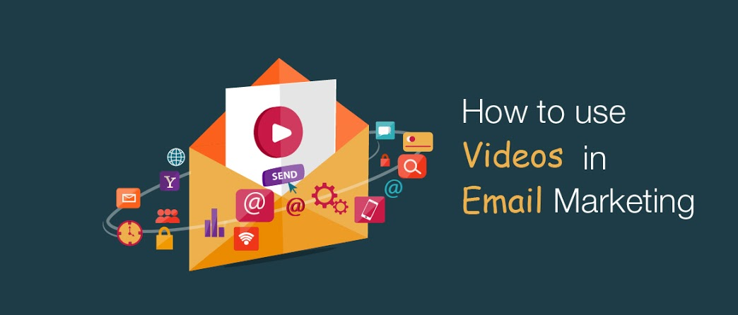 how to use videos in email