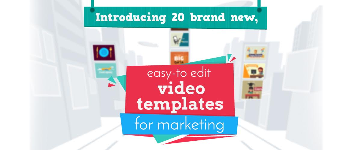 introducing 20 new video templates