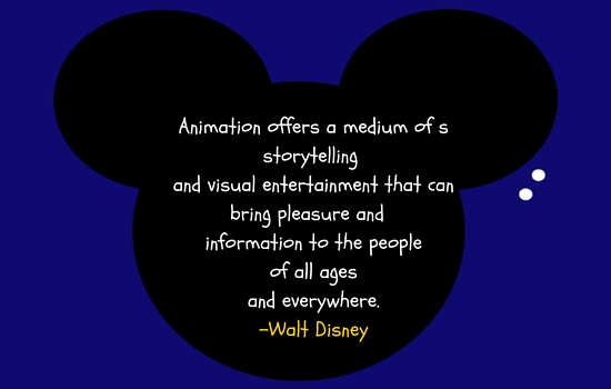 quote about animation