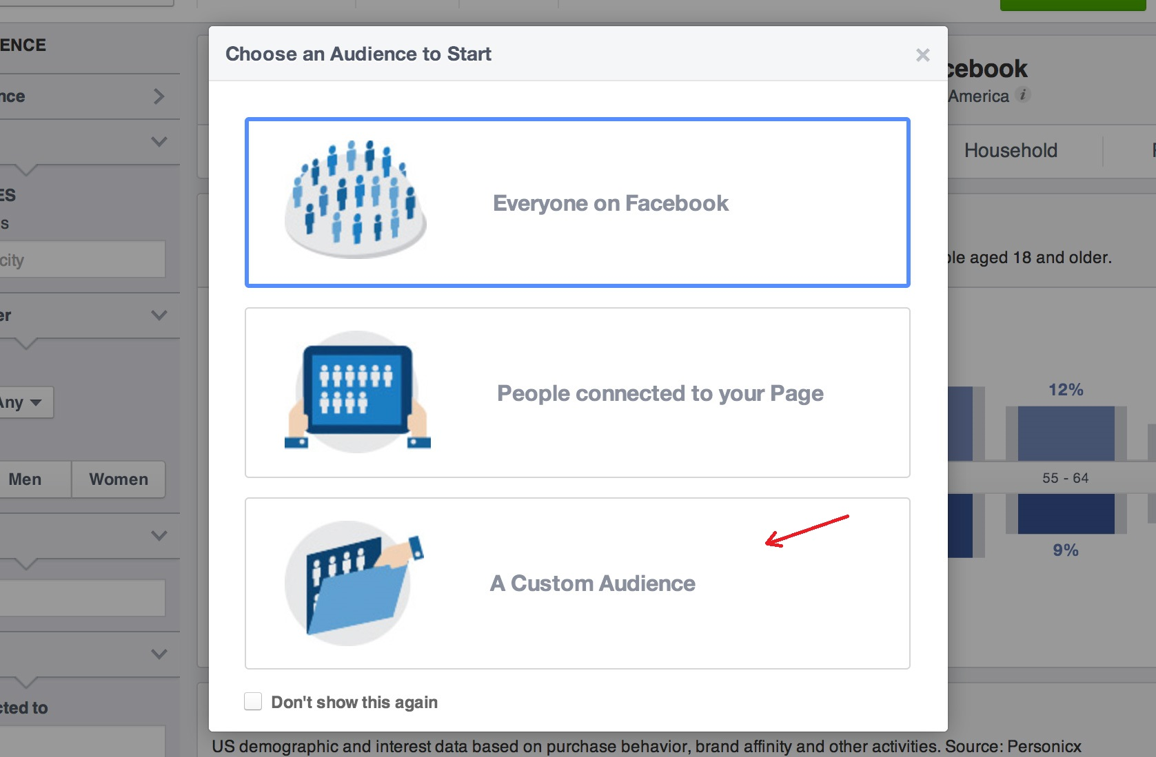 Facebook Video Ads1 Custom Audience