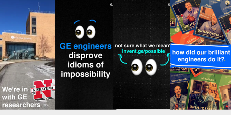 GE engineers