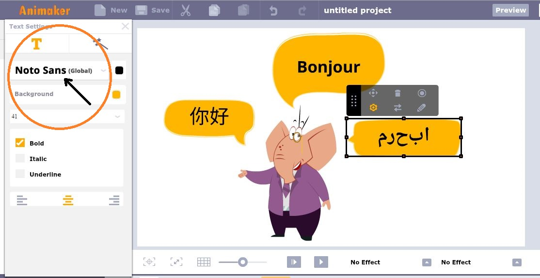Animaker now supports the languages of more than 3 billion