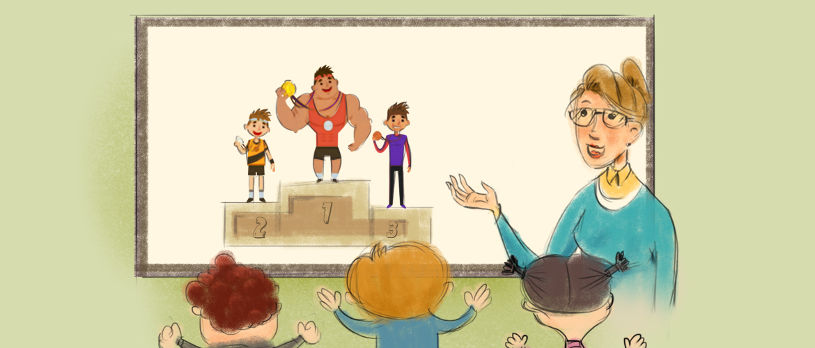 Sports animation for Education