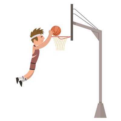 Sports-Basketball Player Character