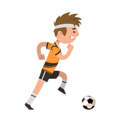 Sports-Soccer Player Character
