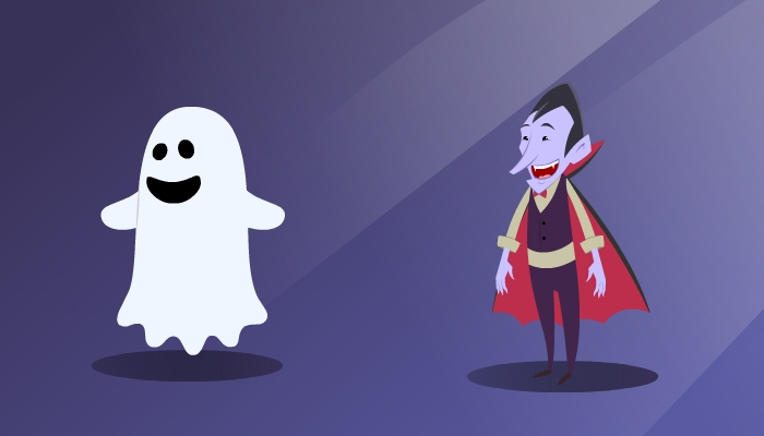 ghost and vampire