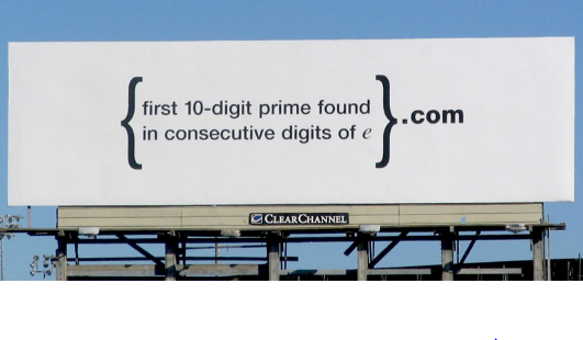 Google billboard
