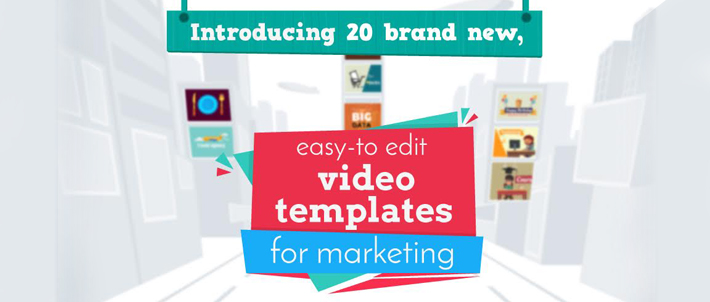 Animaker 20 free templates