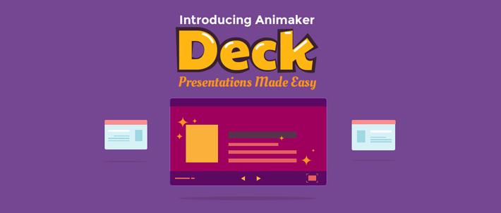 Animaker deck