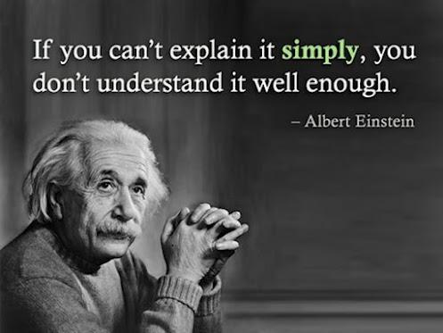 Einstein - Keep it Simple