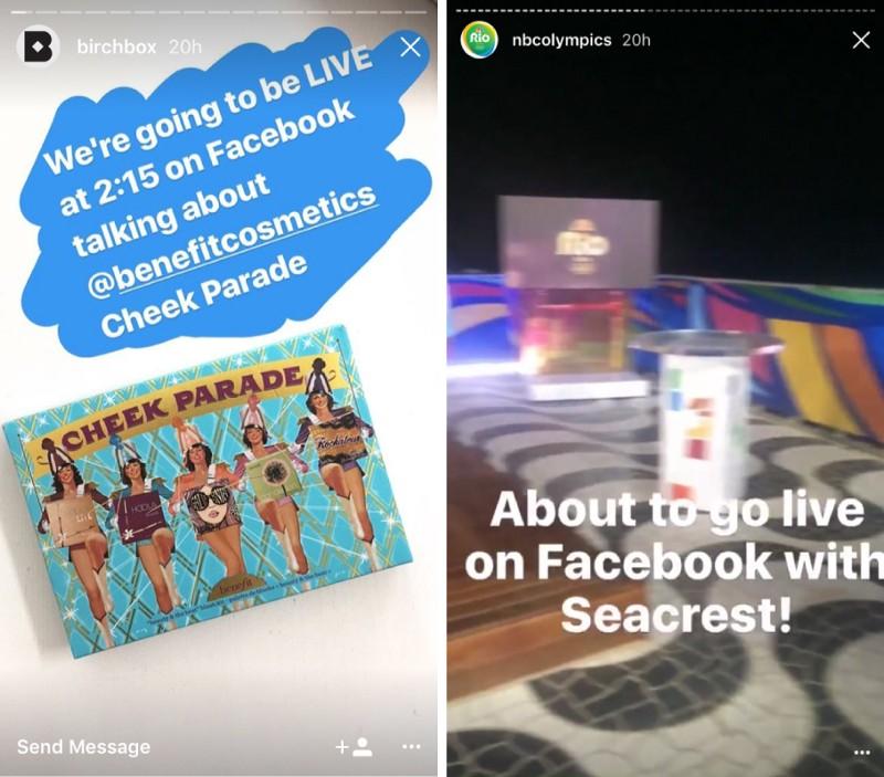 facebook live teaser