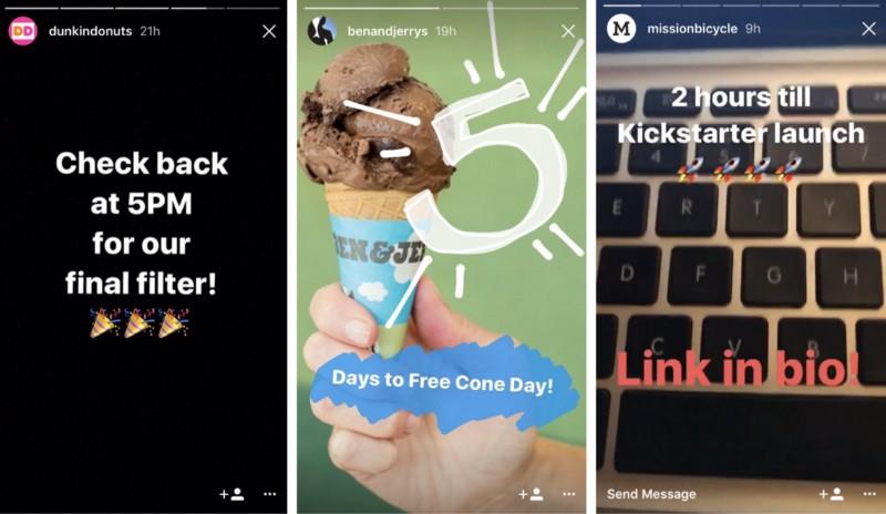 instagram stories live teaser
