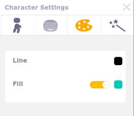 colors tab
