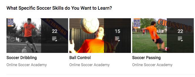 Youtube Playlist example 2
