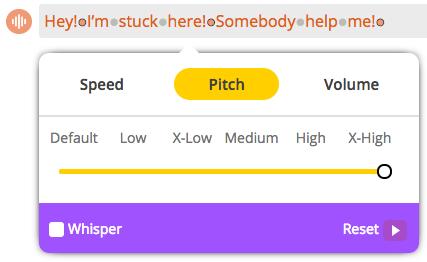 Animaker Voice - Somebody help me