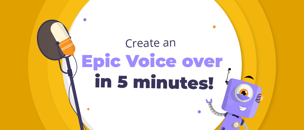 Epic voice over- Banner Image