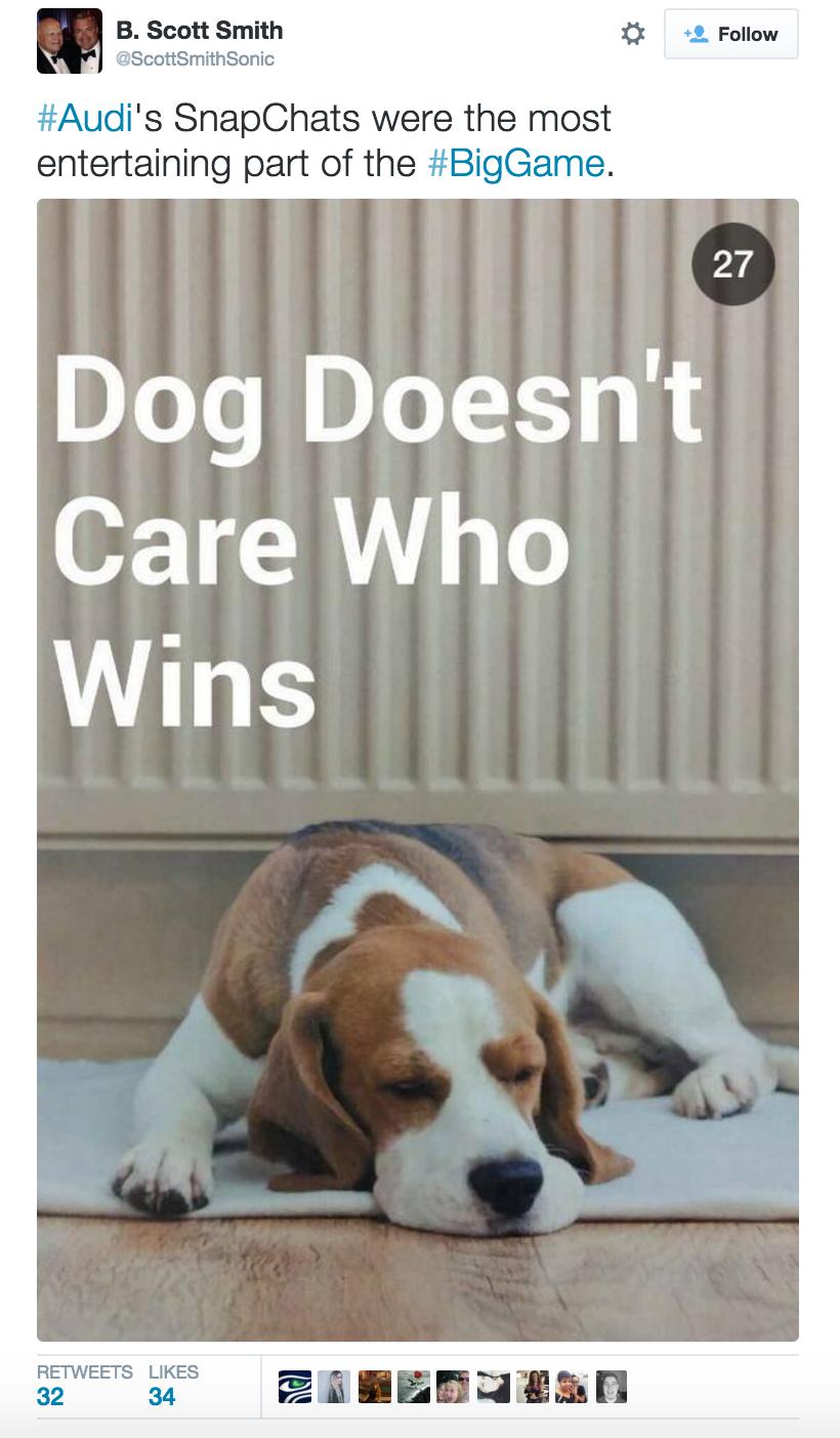 Audi Snapchat Campaign