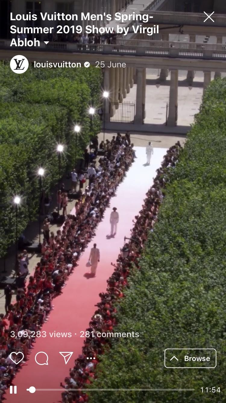 Louis Vuitton Event IGTV