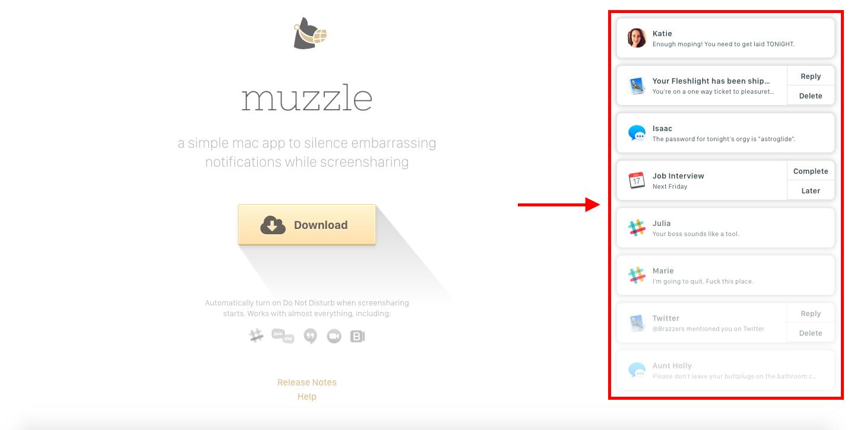 Muzzle-app