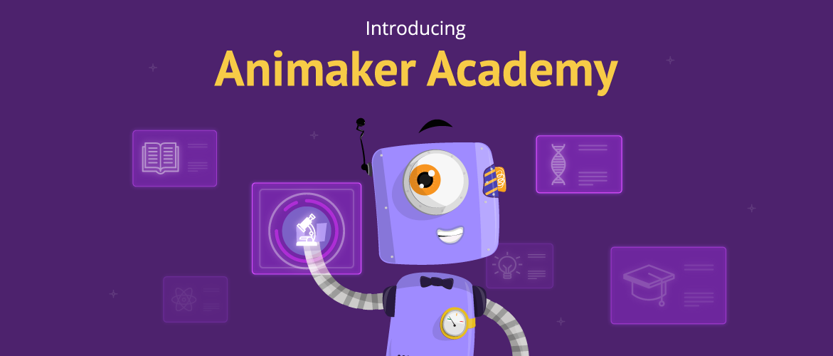 Introducing Animaker Academy