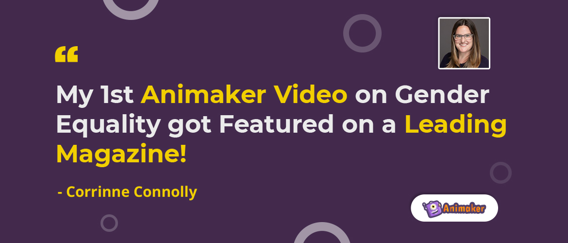 Animaker video got featured