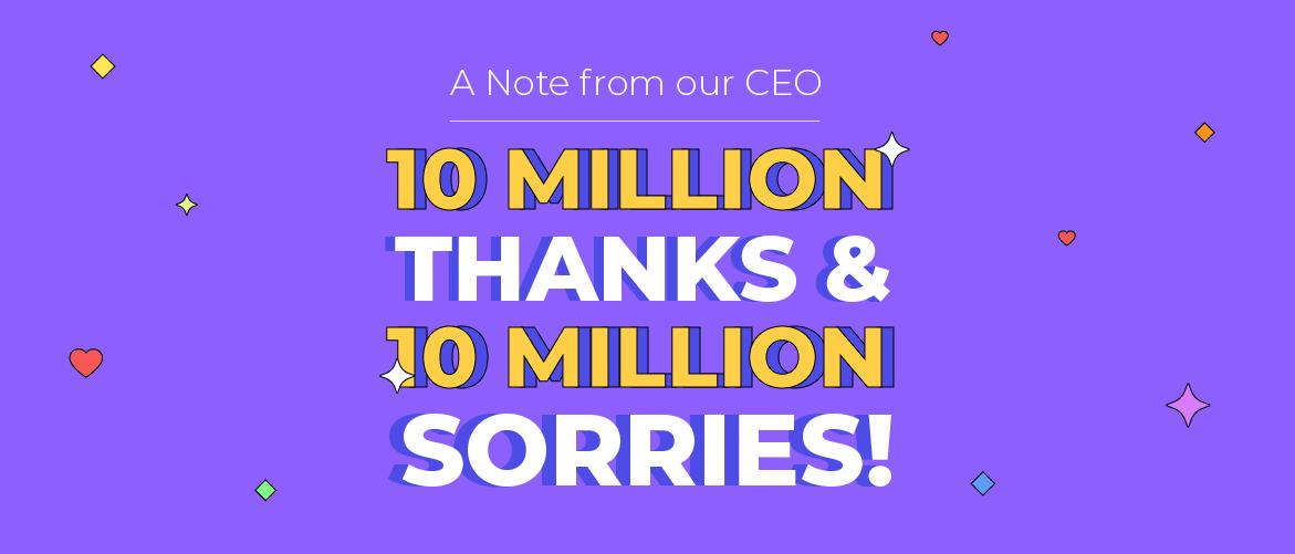 10 Million Users