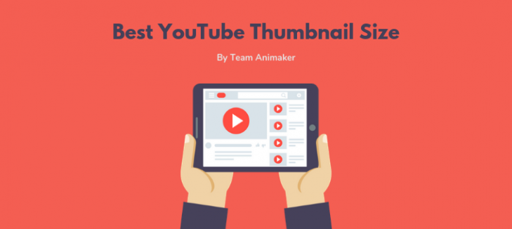 YouTube thumbnail size