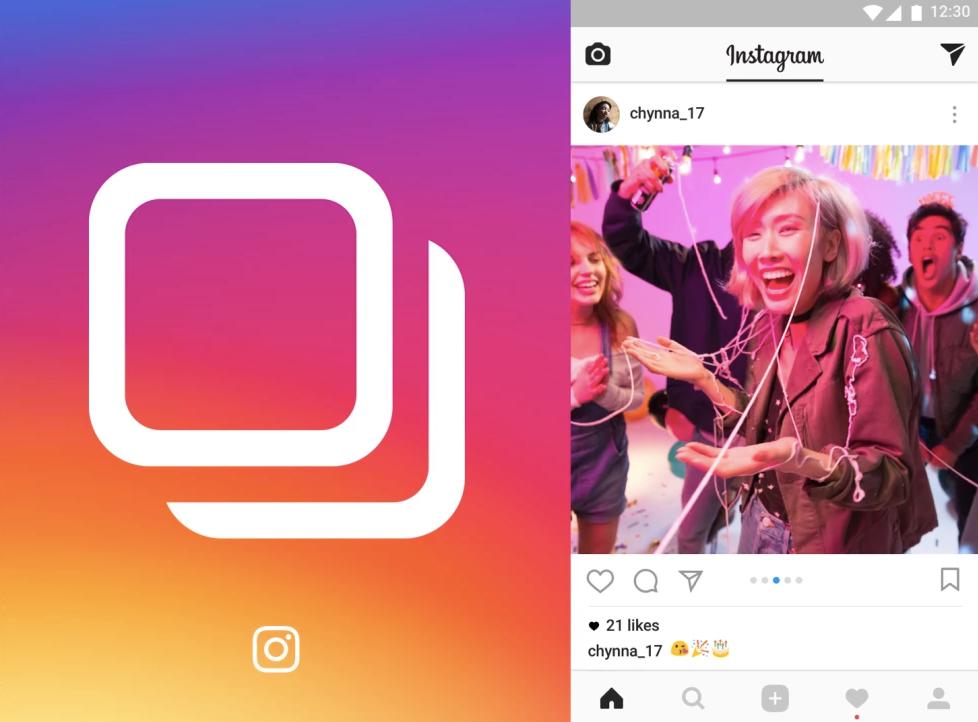 Instagram carousel post