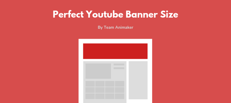 Youtube Banner Size The Perfect Dimensions In 2019templates