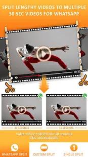 Split Videos for WhatsApp Status using Video Splitter