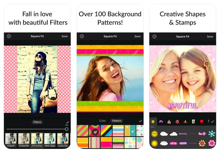 video editor square video ios app