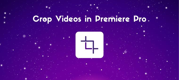 crop a video in premiere pro