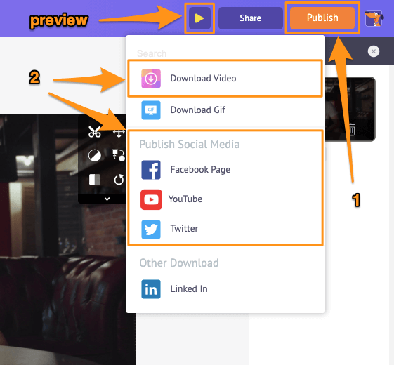download muted video