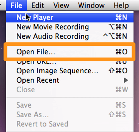 go to file and open file