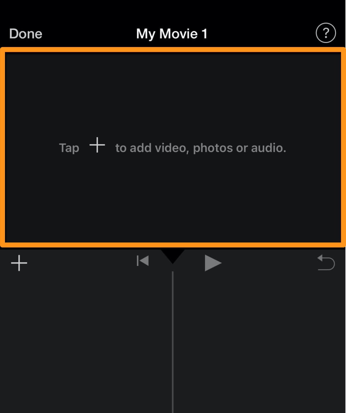 tap to add video