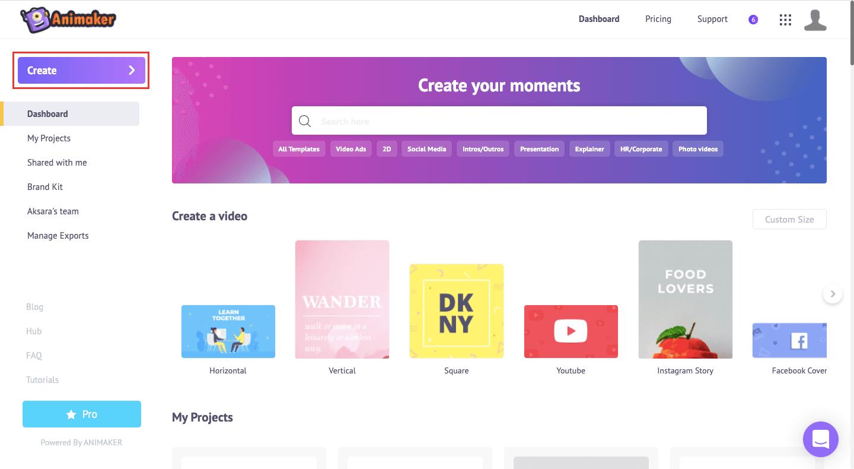 Create YouTube Intro